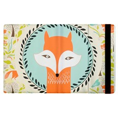 Foxy Fox Canvas Art Print Traditional Apple Ipad Pro 12 9   Flip Case