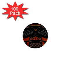 Traditional Northwest Coast Native Art 1  Mini Magnets (100 Pack)
