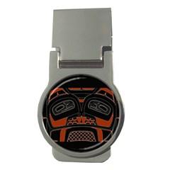 Traditional Northwest Coast Native Art Money Clips (round)