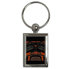 Traditional Northwest Coast Native Art Key Chains (rectangle)