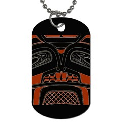 Traditional Northwest Coast Native Art Dog Tag (one Side)