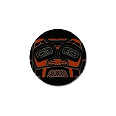 Traditional Northwest Coast Native Art Golf Ball Marker (4 Pack)