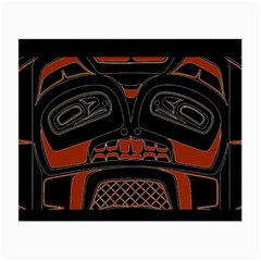 Traditional Northwest Coast Native Art Small Glasses Cloth (2 Side)