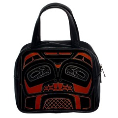 Traditional Northwest Coast Native Art Classic Handbags (2 Sides)