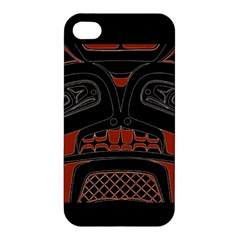 Traditional Northwest Coast Native Art Apple Iphone 4/4s Hardshell Case