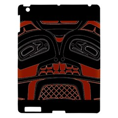 Traditional Northwest Coast Native Art Apple Ipad 3/4 Hardshell Case