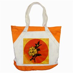 Vector Asian Flowers Accent Tote Bag