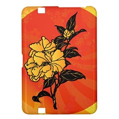 Vector Asian Flowers Kindle Fire Hd 8 9