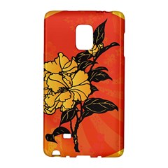 Vector Asian Flowers Galaxy Note Edge