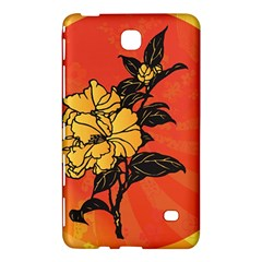 Vector Asian Flowers Samsung Galaxy Tab 4 (7 ) Hardshell Case