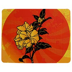 Vector Asian Flowers Jigsaw Puzzle Photo Stand (rectangular)