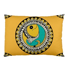 Madhubani Fish Indian Ethnic Pattern Pillow Case