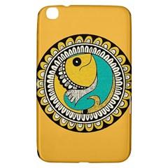 Madhubani Fish Indian Ethnic Pattern Samsung Galaxy Tab 3 (8 ) T3100 Hardshell Case