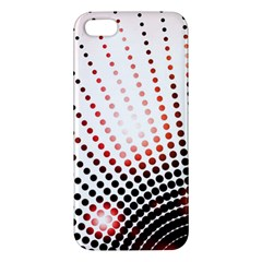 Radial Dotted Lights Apple Iphone 5 Premium Hardshell Case