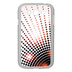 Radial Dotted Lights Samsung Galaxy Grand Duos I9082 Case (white)