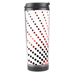 Radial Dotted Lights Travel Tumbler