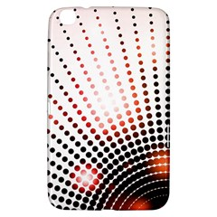 Radial Dotted Lights Samsung Galaxy Tab 3 (8 ) T3100 Hardshell Case
