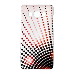 Radial Dotted Lights Samsung Galaxy A5 Hardshell Case