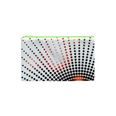 Radial Dotted Lights Cosmetic Bag (xs)