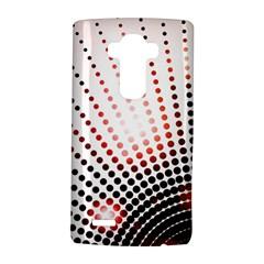 Radial Dotted Lights Lg G4 Hardshell Case