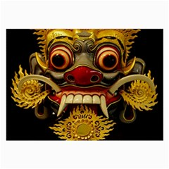 Bali Mask Large Glasses Cloth (2 Side)