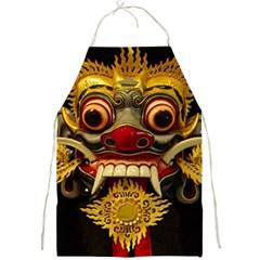 Bali Mask Full Print Aprons
