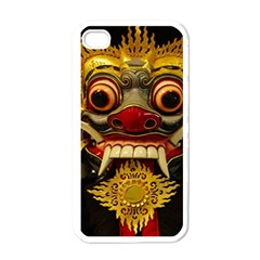 Bali Mask Apple Iphone 4 Case (white)