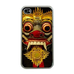Bali Mask Apple Iphone 4 Case (clear)