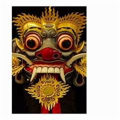 Bali Mask Small Garden Flag (two Sides)