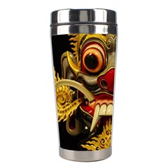 Bali Mask Stainless Steel Travel Tumblers