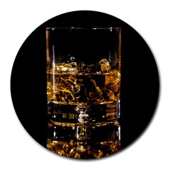Drink Good Whiskey Round Mousepads