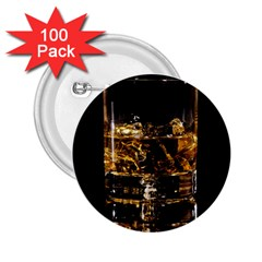 Drink Good Whiskey 2 25  Buttons (100 Pack)