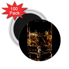 Drink Good Whiskey 2 25  Magnets (100 Pack)
