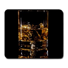 Drink Good Whiskey Large Mousepads