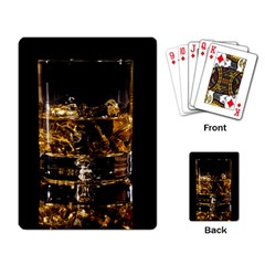 Drink Good Whiskey Playing Card