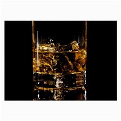 Drink Good Whiskey Large Glasses Cloth (2 Side)