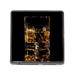 Drink Good Whiskey Memory Card Reader (square)