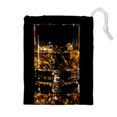 Drink Good Whiskey Drawstring Pouches (extra Large)