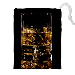 Drink Good Whiskey Drawstring Pouches (xxl)
