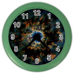 Crazy  Giant Galaxy Nebula Color Wall Clocks