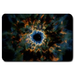Crazy  Giant Galaxy Nebula Large Doormat