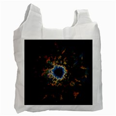 Crazy  Giant Galaxy Nebula Recycle Bag (two Side)