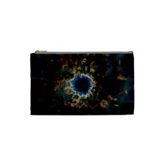 Crazy  Giant Galaxy Nebula Cosmetic Bag (small)