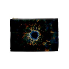 Crazy  Giant Galaxy Nebula Cosmetic Bag (medium)