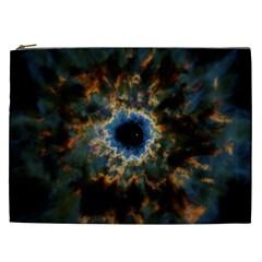 Crazy  Giant Galaxy Nebula Cosmetic Bag (xxl)