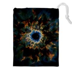 Crazy  Giant Galaxy Nebula Drawstring Pouches (xxl)