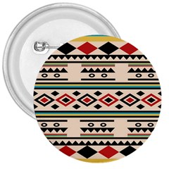 Tribal Pattern 3  Buttons