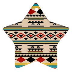 Tribal Pattern Ornament (star)