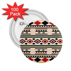 Tribal Pattern 2 25  Buttons (100 Pack)