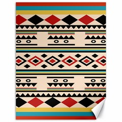 Tribal Pattern Canvas 18  X 24